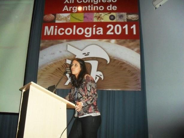 Expone Vanesa Ludemann de la Universidad de Quilmes.