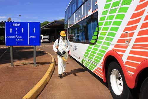 Fumigación. En Iguazú se controlarán todos los vehículos que ingresen.