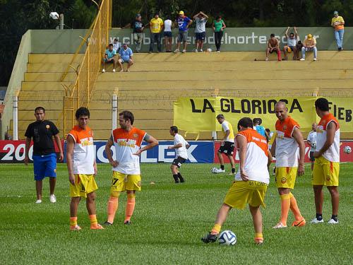 Franco Cabrera, Diego Torres, Federico Rosso y Víctor Aquino (Foto) serán titulares ante Huracán.