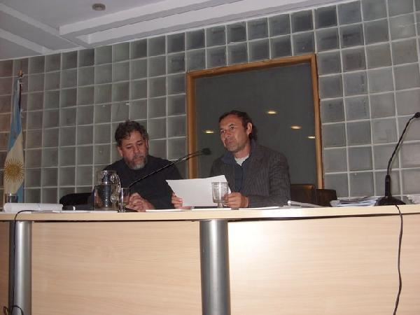 Silvero presentó la campaña en el Senado de la Nación.