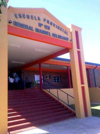 Escuela inaugurada este lunes por el gobernador Maurice Closs