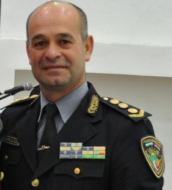 Nuevo subjefe de Policía, comisario general licenciado Orlando Amarilla.