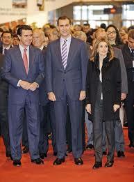 Los príncipes de Asturia Felipe y Letizia inauguraran la feria este miercoles.