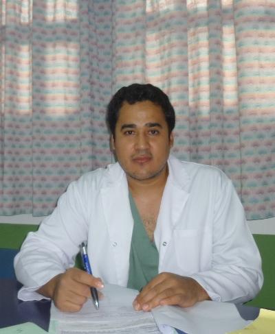 Diulio Leiva, médico tocoginecólogo que atendió el parto de la nena de once años.