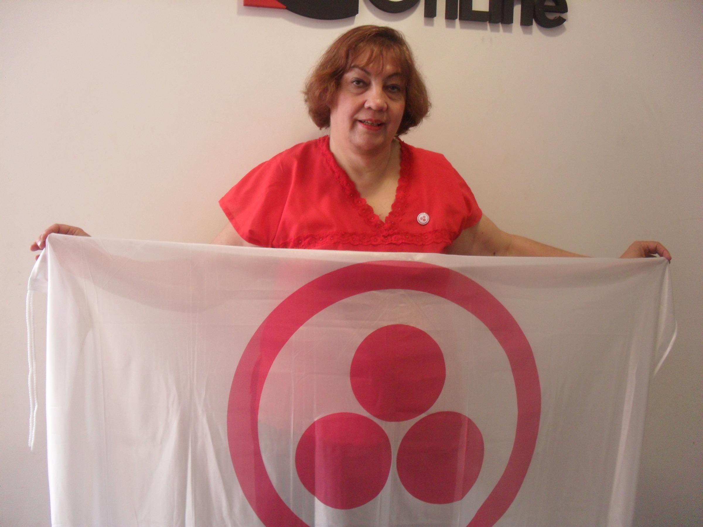 La Bandera de la Paz flameará en los actos públicos de la provincia.