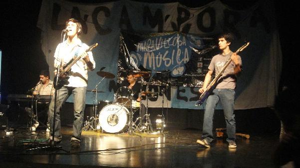 """""""Khen"""", el grupo que representará a Misiones en el festival de rock en la Costanera."""