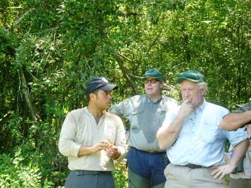 Naturaleza. Los operadores británicos quedaron fascinados con el monte.