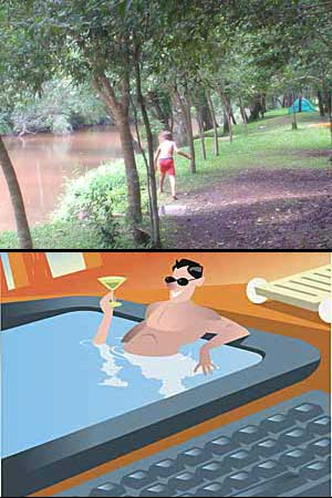 Colonia Alberdi inauguró balneario municipal El Chapá