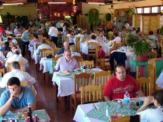 El restaurante de las Cataratas.