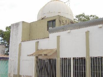 """Sede actual del observatorio astronómico """"Padre Adolfo Kolping"""", ubicado en Villa Cabello, en Posadas."""