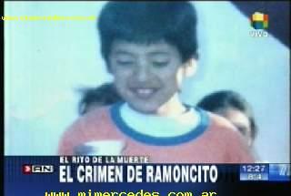 Imagen del canal América Noticias.  Caso Ramoncito