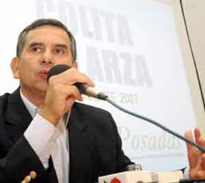 """El sucesor. Alberto """"Colita"""" Galarza aspira a continuar con la gestión de Brignole."""