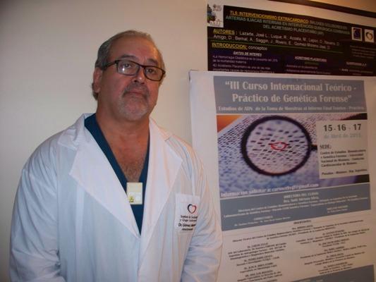 Vicepresidente de la fundación Biogencel Misiones, José Oscar Gómez Moreno.