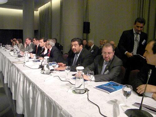 Representación. Franco estuvo por Misiones en la reunión de Seguridad.