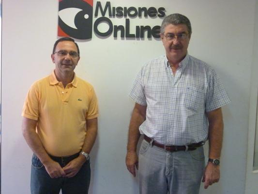Gastroenterólogos Daniel Boglietti y Jorge Venturini.