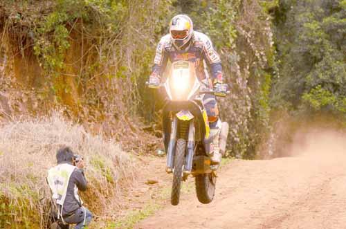 Cyril Despres es el favorito a llevarse la categoría Motos.