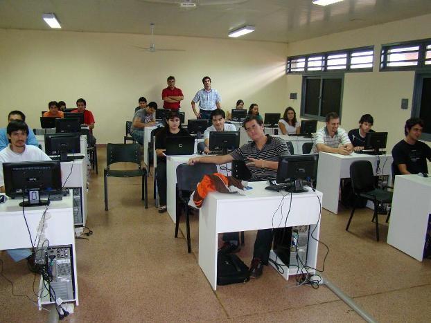 3º año de Informática en el Itec Nº 3 de Garupá.
