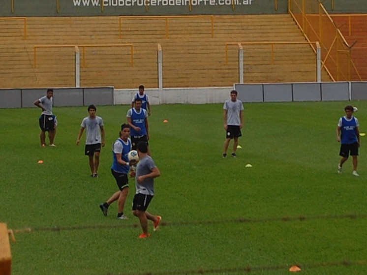 El entrenamiento de hoy se realizó esta mañana en Santa Inés.