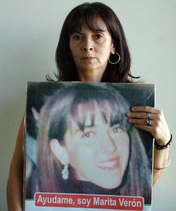 Sin perder la fe. Para Susana, Marita esta viva y esperando ser rescatada.