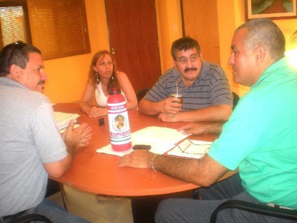 El intendente de Eldorado, Norberto Aguirre recibió a directivos del FoPreMi.