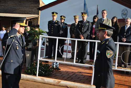 En la Unidad Regional de Apóstoles asumió el comisario mayor, José Barboza.