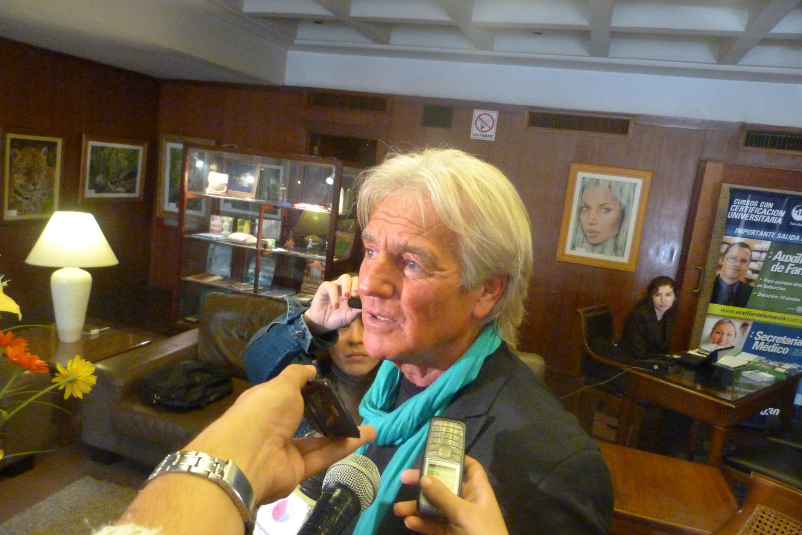 """Sergio Denis admitió que está separado y """"estoy muy bien""""."""
