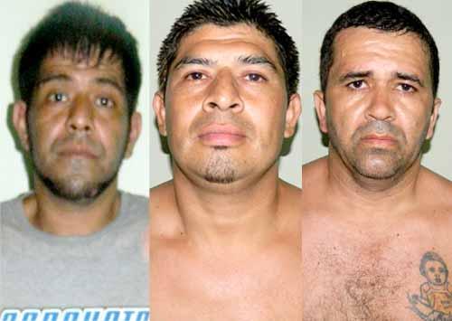 Los peligroso reclusos están condenados por homicidios, asaltos y narcotráfico.