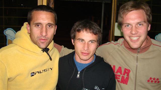 Prono, Bianchini y Goette, tres importantes refuerzos.