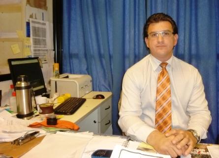Daniel Moschner, titular de ANSES en Eldorado.
