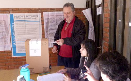 Buena parte de los votos renovadores del interior llegaron desde Oberá.