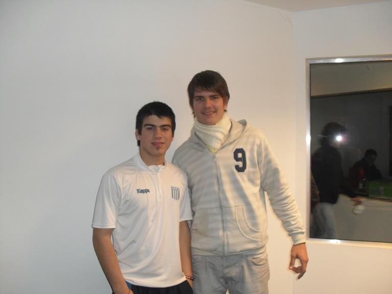 Mauricio Maciel y César Saleha.