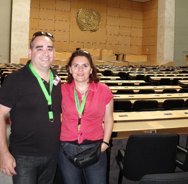 Luis Quaranta y su esposa en Alemania, piensan volver a Misiones.