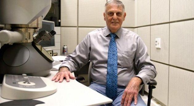 """Daniel Shechtman, científico israelí, realizó un descubrimiento en los """"cuasicristales""""."""