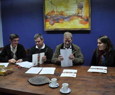 En Oberá se firmaron dos convenios, uno con la Facultad de Arte y Diseño de la UNAM