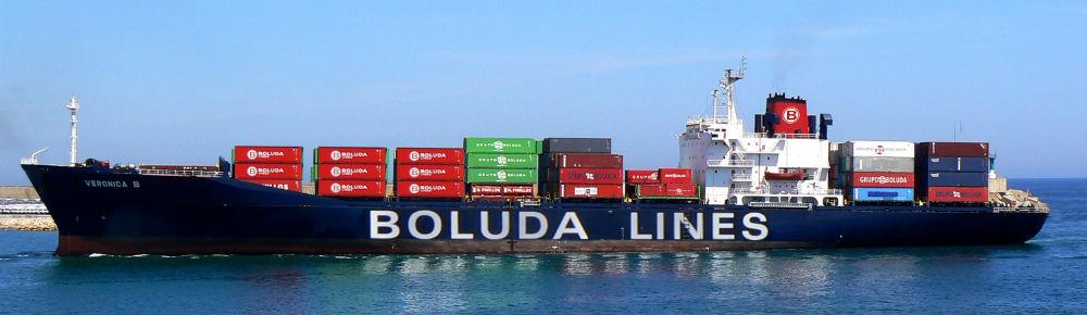 Boluda, empresa de transporte marítimo internacional.