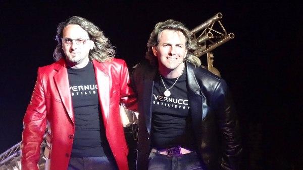 Vendrán los Maestros estilistas, los hermanos Gabriel y Roberto Vernucci.