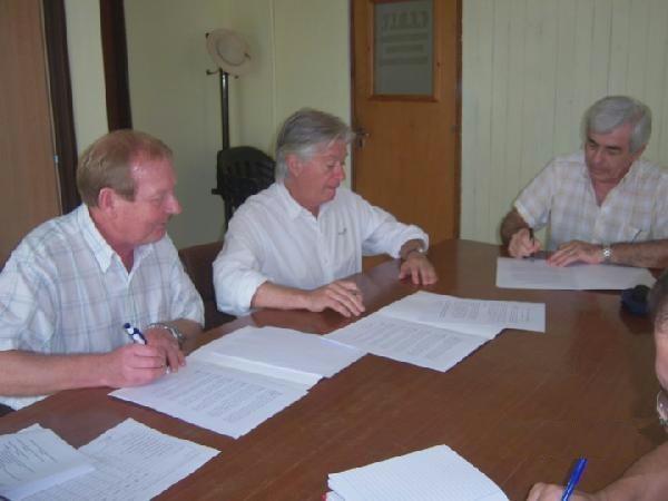 El Cedit y el Consejo de Educación firmaron convenio de pasantías de graduados en escuelas técnicas.