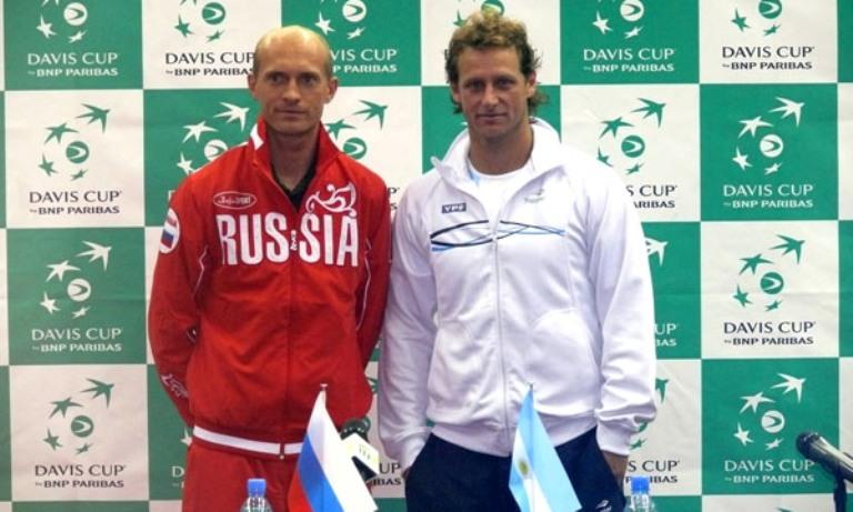 El top ten Davidenko junto a David, quien buscará el primer punto.