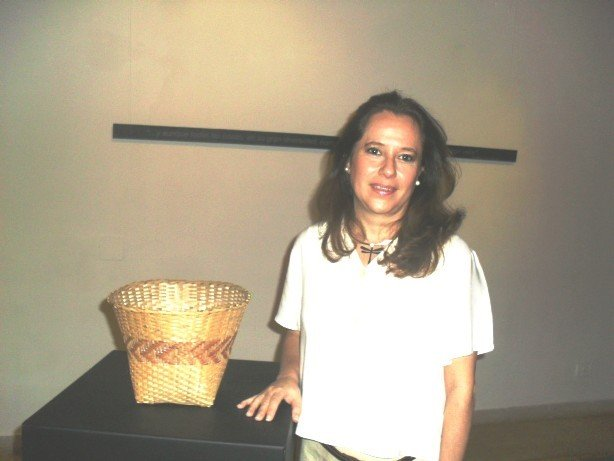 Marelli quiere dar valor y jerarquizar el arte mbya guaraní, en contexto de museos.