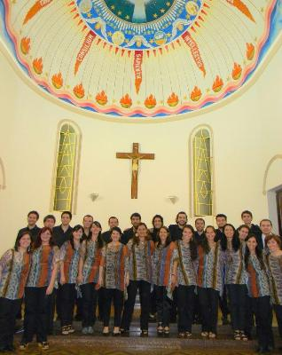 Estudio Coral Sur, uno de los que participarán el domingo en la Catedral.