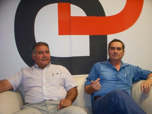 Waldemar Flores y Juan Manuel Sureda, creadores de Flor del Desierto hace 20 años.