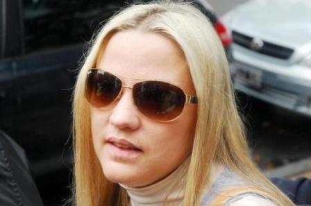Carolina Píparo, víctima de una salidera bancaria en 2010.