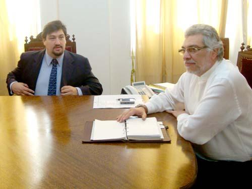 Apenas asumió, Lugo recibió a Closs en la Casa de Gobierno de Paraguay