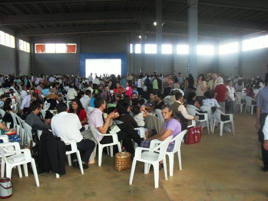 Asamblea de Testigos de Jehová en el Centro de Convenciones. (Foto año 2011)
