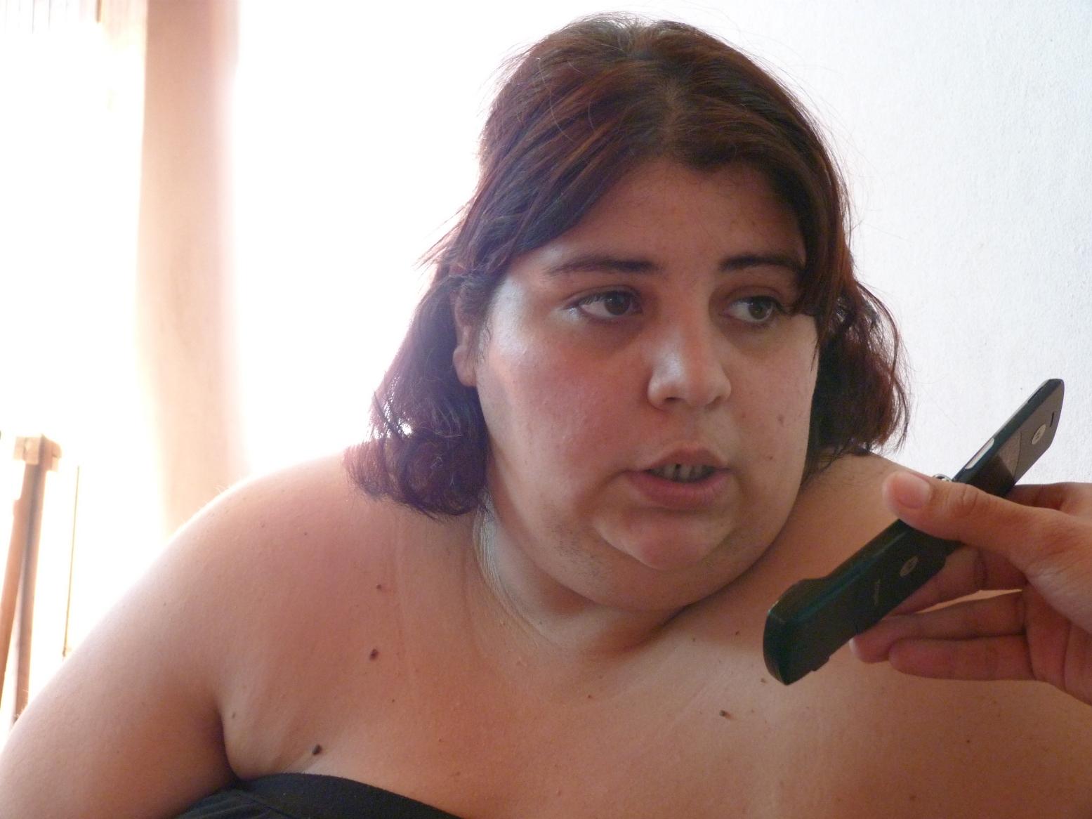 Laura Bronzino, presidenta de la asociación LGBT Misiones.