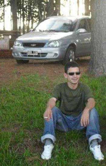 Miguel Roja (23) desapareció hacecinco días, en Puerto Esperanza.