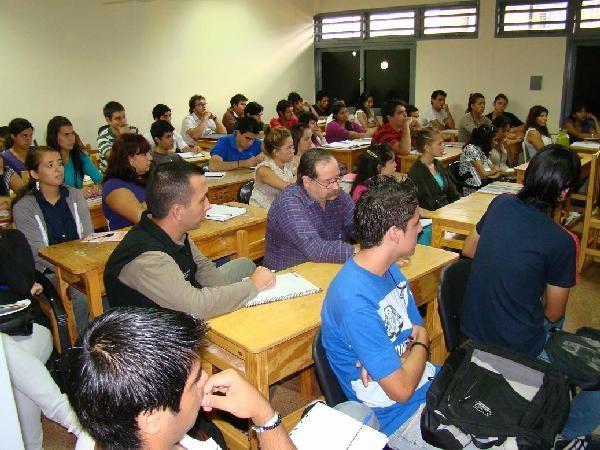 Alumos del ITEC Nº 3 de Garupá. (Foto archivo 2011).