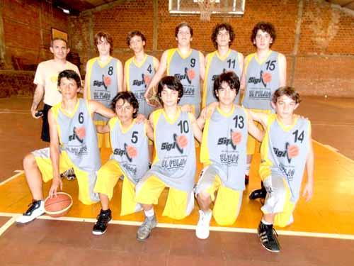La Sub-14 de Siglo XXI debutó con una victoria a La Pampa por 66-45.