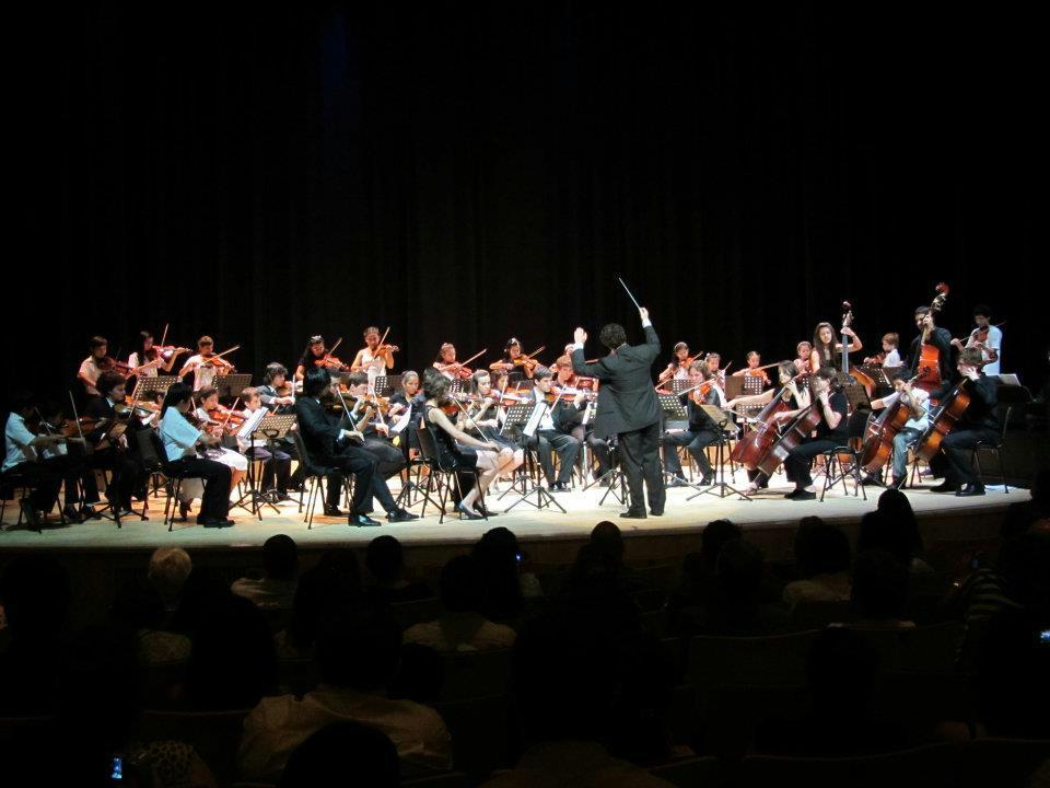 Orquesta de Cámara juvenil del Centro del Conocimiento.