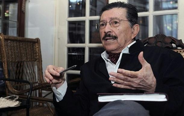Almada, referente de los derechos humanos en Paraguay (foto Telam).